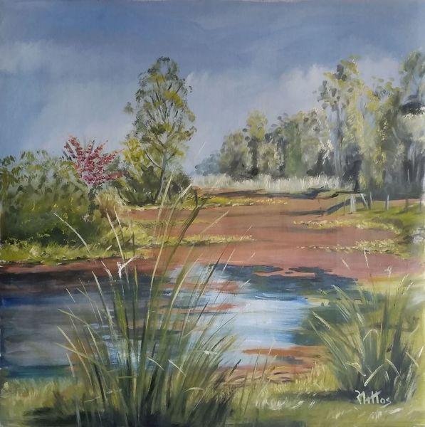 Tajamar in spring by Rosario de Mattos