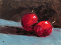 Two Cherries by Alan Harris