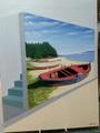 Barcas orilladas y trasfondo by Laureano TROITIÑO
