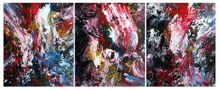 Triptych OF-45 by Oleg Frolov