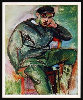 Boy Sailor with Cap by Henri Matisse