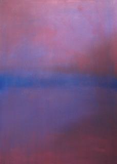 Blue Stillness in Pink (Ireland, pre-dawn light) from Chiaroscuro Series by Paul Hughes