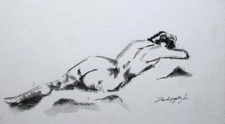 Naked by Raquel Sara Sarangello