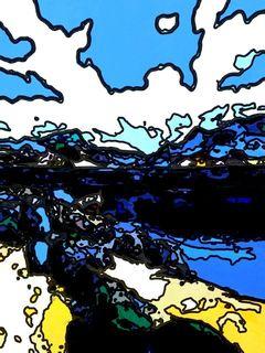 Art by Joel Lecker  # 135 by Joel Lecker