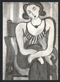 FIGURE AU CORSALET (aka CORSETTED FIGURE) by Henri Matisse