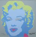 Andy Warhollithograph Marilyn Monroe signed limited edition by Andy Warhol