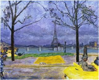 Le Pont de Grenelle by Pierre Bonnard