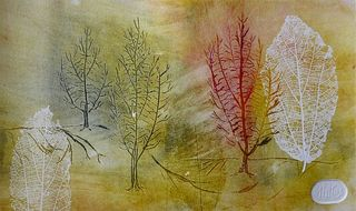 TREES AND LEAVES 18 by Rosario de Mattos