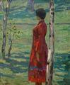 In the grove by Vasiliy Strigin