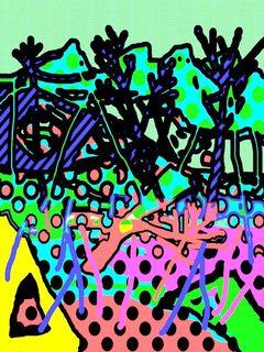 Art by Joel Lecker  # 102 by Joel Lecker