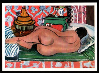 Recumbent Nude, from back. by Henri Matisse