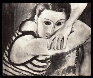 LES YEUX BLEUS (aka The Blue Eyes) by Henri Matisse