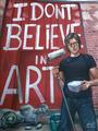 "I DONT BELIEVE IN ART by Carlos Cenoz Bermejo ""Dino"""