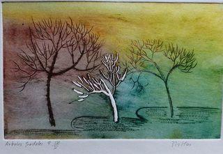 Fractale Trees 9 by Rosario de Mattos