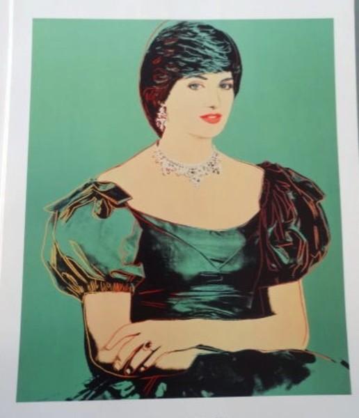 Princess Diana by Andy Warhol, 1982. by Andy Warhol