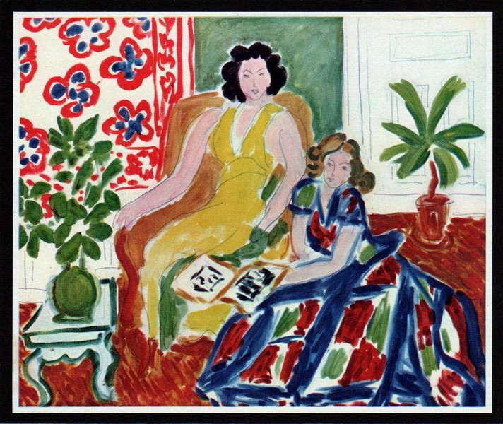 """LA LECTURE"" (aka The Lecture) by Henri Matisse"