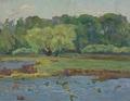 Willows in spring by Vasiliy Strigin