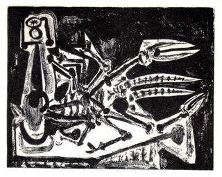 The Lobster by Pablo Picasso