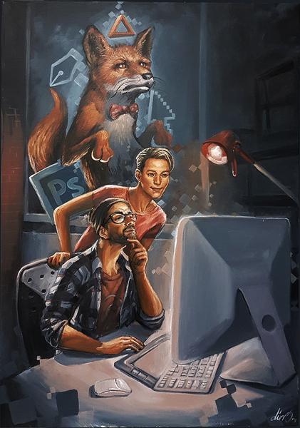 """Creatives by Carlos Cenoz Bermejo """"Dino"""""""