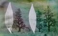 TREES AND LEAVES 12 by Rosario de Mattos