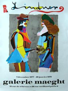Richard Lindner affiche by Richard Lindner