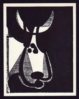Tête de Taureau, tourné à gauche. by Pablo Picasso