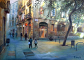 Barcelona Carders Street, Born's neighborhood by Miquel Cazaña