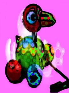 Art by Joel Lecker  #JJ-106 by Joel Lecker