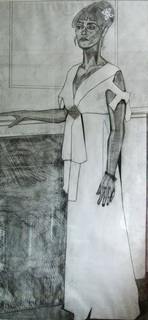 Full-Length Portrait of a Lady by Emily Beza