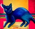 Blue cats by Sara Artigas