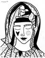 Mother (White) by Romero BRITTO