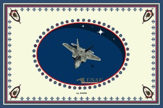 """United States of America """"USAF"""" banner (size XXXXL) by PACHI"""