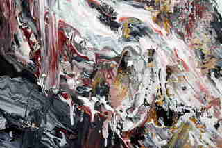 Abstract Painting OF-XJ1 Fragment 3 by Oleg Frolov