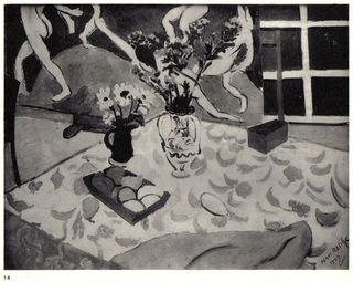 NATURE MORTE (fond étude pour 'La Danse') by Henri Matisse