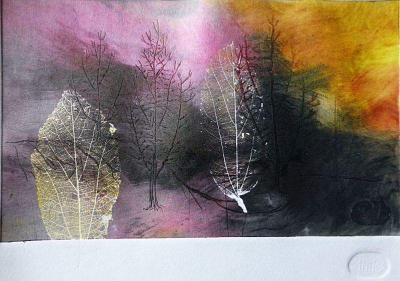 TREES AND LEAVES 19 by Rosario de Mattos