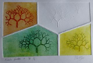 Fractal trees 7 Author's test 2 of 5 by Rosario de Mattos