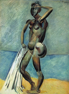 Baigneuse (aka Bather) by Pablo Picasso