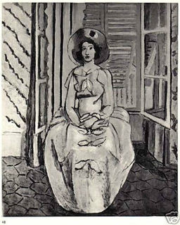 "PORTRAIT DE JEUNE FILLE (ROBE JAUNE), aka ""PORTRAIT OF YOUNG GIRL (YELLOW DRESS)"" by Henri Matisse"