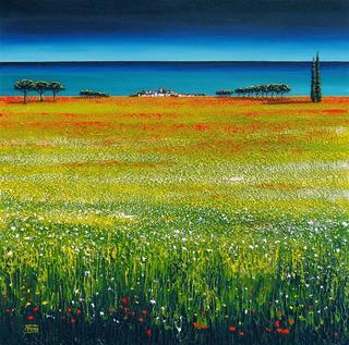 Fleurs Sauvages a Cote de la Mer by Ronnie Ford