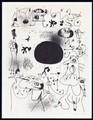 Barcelona III, listed Mourlot 8 by Joan Miró