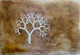 Fractal trees 5 Author's test 1 of 5 by Rosario de Mattos