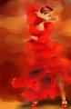 Flamenco Dancer by Susana Zárate