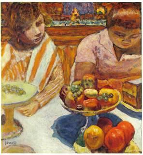 La Comptes de la Journée (aka 'The accounts of the Day') by Pierre Bonnard