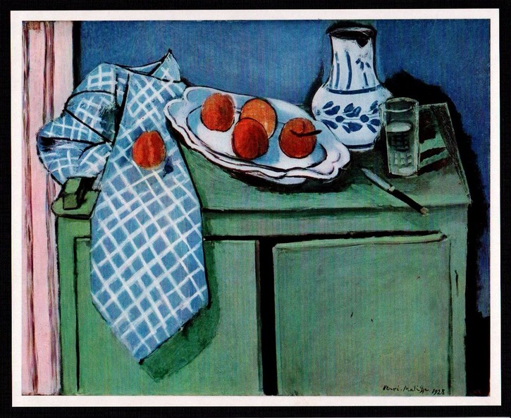 Still Life with Green Buffet by Henri Matisse