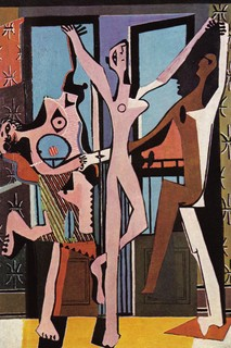 Three Dancers, 1925 by Pablo Picasso
