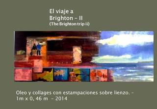 "The Brighton trip II  (Last train to London)"" by Diana Giménez-Figueroa"