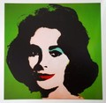 Liz (green) by Andy Warhol, 1963. by Andy Warhol