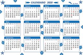 2020 calendar banner by PACHI