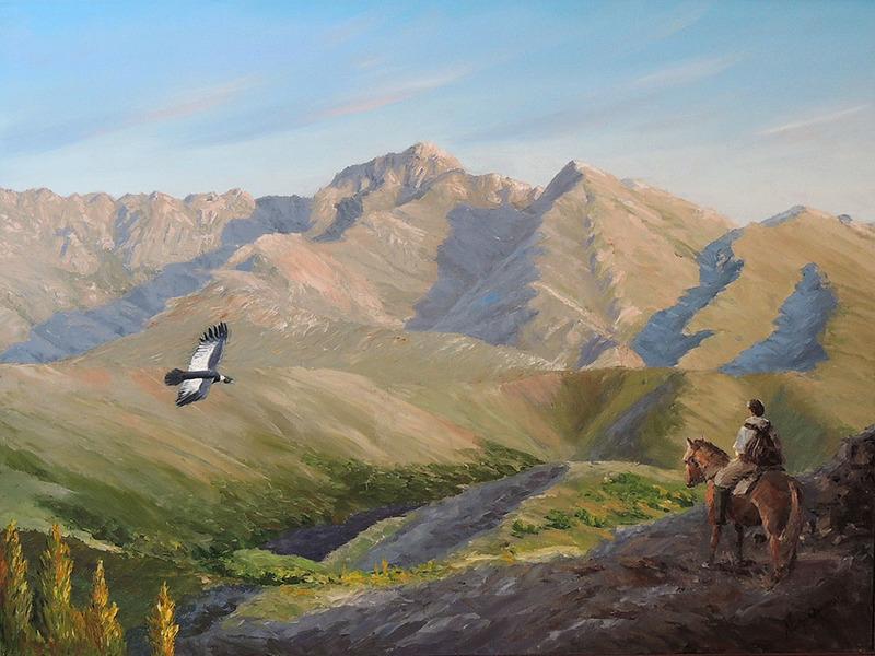 Dueño del paisaje by Nacho Quiroga