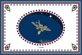 "United States of America ""USAF"" banner (size XXXXL) by PACHI"